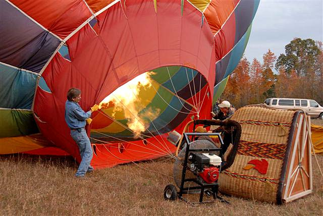 Carolina Balloon AdVentures - Fly with Captain Jack over ...